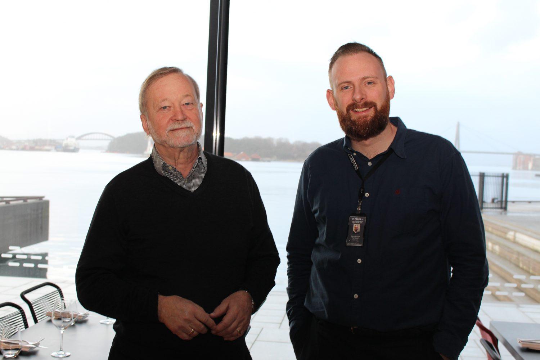 Bjørn A. Stangeland og Sigurður Rúnar Ragnarsso